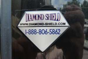 The Diamond Shield badge
