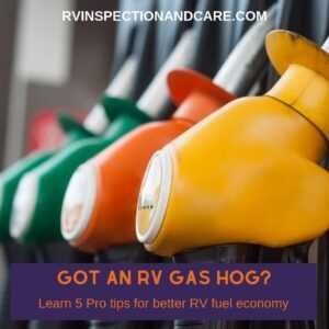 Your RV Gas Mileage - 5 Tips To Make It Better