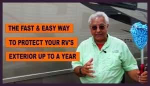 RV exterior paint protection