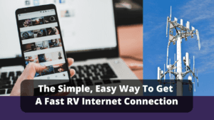 A simple and easy RV internet connection