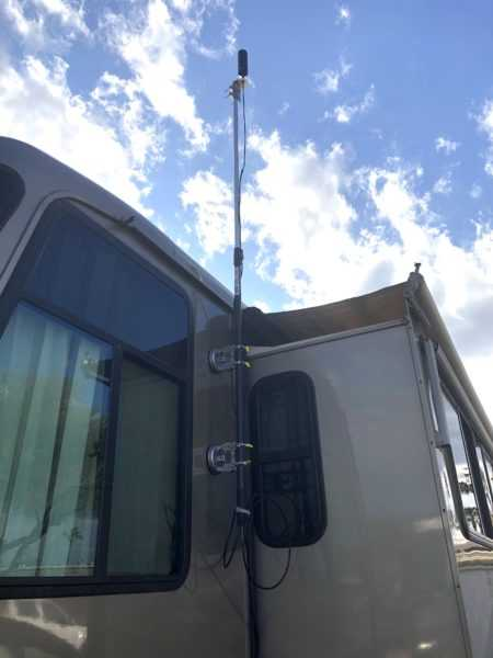 My RV outside antenna