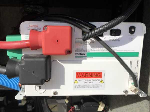 A Xantrex 2000 watt inverter