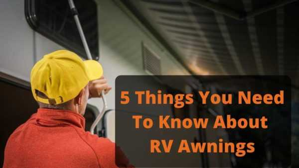 Watch my RV awning care video.
