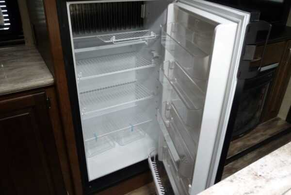 The safest way to defrost an RV refrigerator