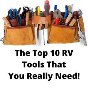 RV tools you really need