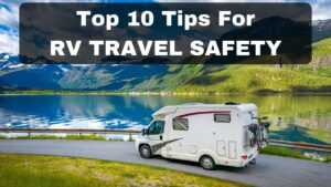 RV travel safety