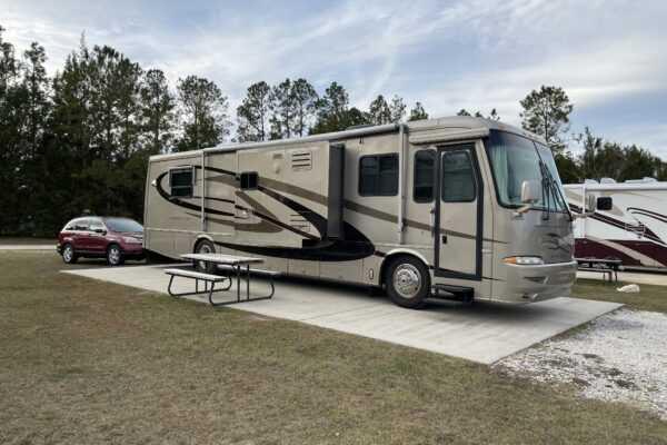 Our Azalea Acres RV Park campsite