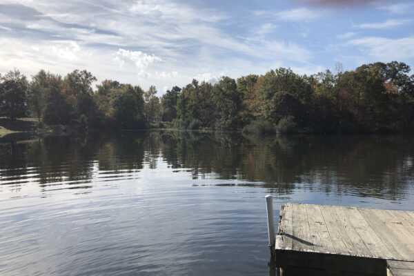 Chesapeake Bay RV Resort pond