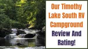 Timothy Lake South RV Campground