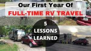 Full Time RV Living Lessons