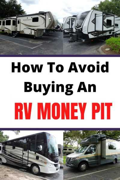 How To Avoid Buying An RV Money Pit ebook